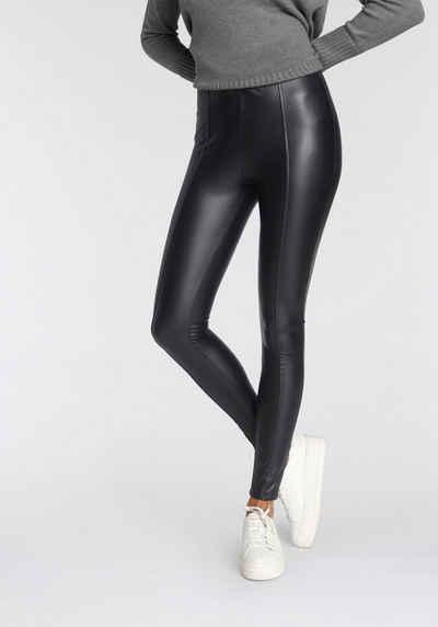 Tamaris Leggings in Leder-Optik - NEUE KOLLEKTION