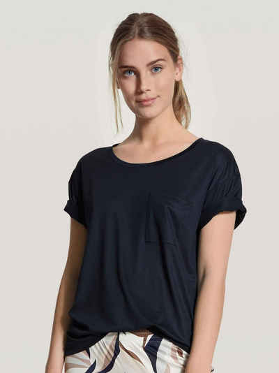 CALIDA Kurzarmshirt »Kurzarm-Shirt, Compostable« (1-tlg) Made in Europe