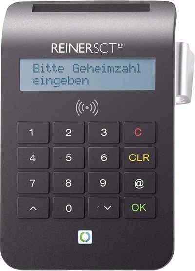 REINER HBCI-Chipkartenleser »cyberJack® RFID komfort«, Chipkarten-/Ausweis-leser, PIN, BSI zertifiziert