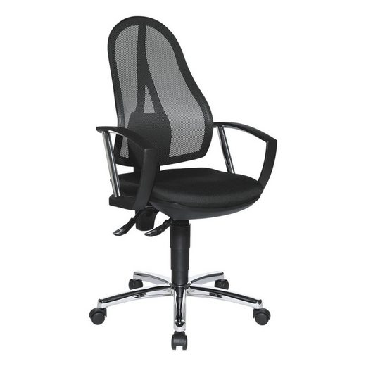 TOPSTAR Schreibtischstuhl »Open Point P Plus«, mit Bandscheibensitz und Armlehnen