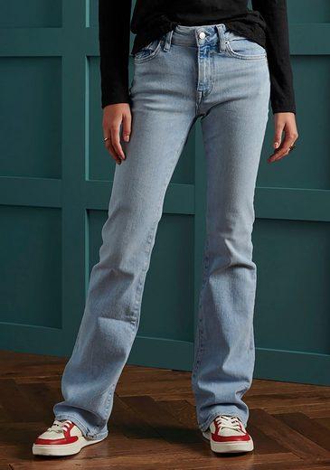 Superdry Bootcut-Jeans »MID RISE SLIM FLARE« mit mittlerer Leibhöhe