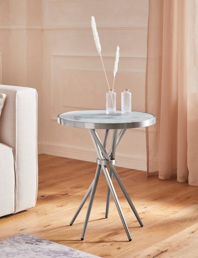 Guido Maria Kretschmer Home&Living Beistelltisch »Marble«, Beistelltisch in modernem Design