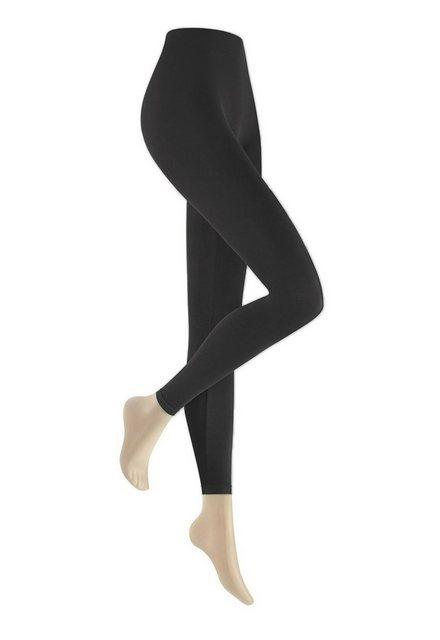 Hosen - Hudson Leggings »Damen Leggings Seamless, blickdicht, matt, 90« › grau  - Onlineshop OTTO