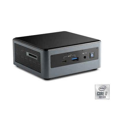 CSL Intel NUC i7-10710U Windows 10 Pro Mini-PC (Intel Core i7, 16 GB RAM, 500 GB SSD)