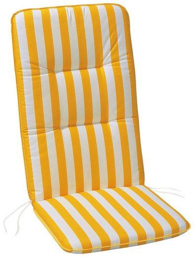 BEST Hochlehnerauflage »Basic-Line«, (L/B): ca. 120x50 cm