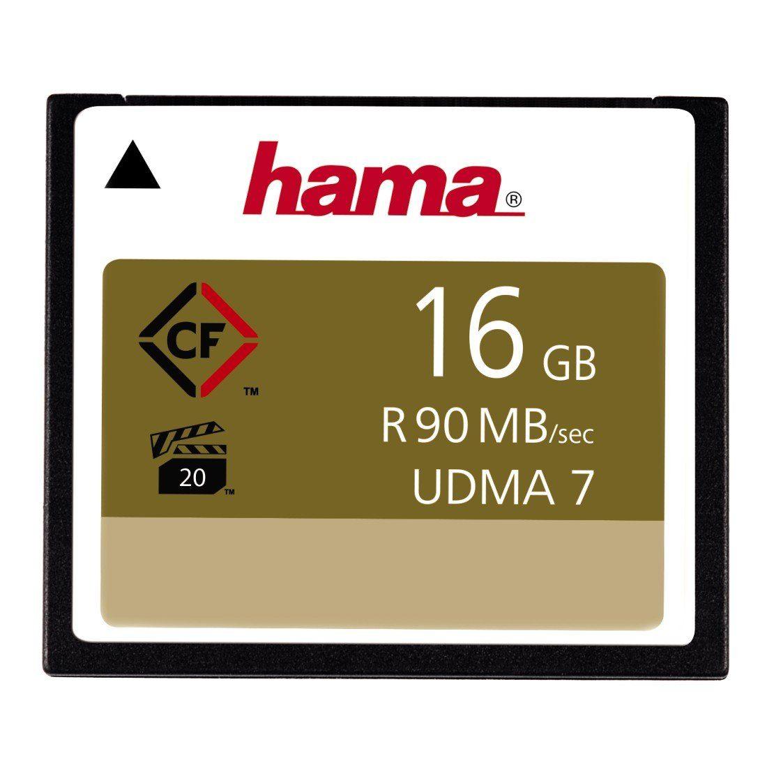 Hama Speicherkarte CompactFlash 16 GB, 90 MB/s