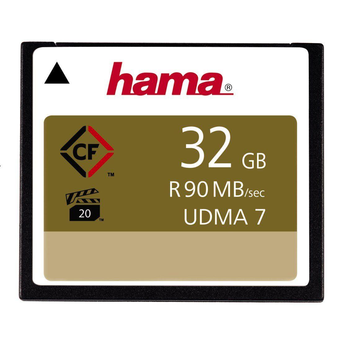 Hama Speicherkarte CompactFlash 32GB. 90MB/s