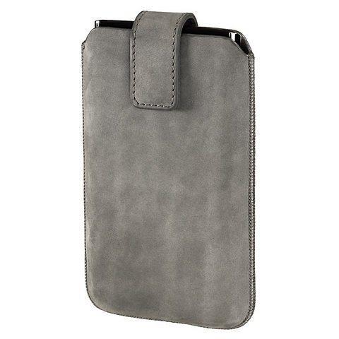 Hama Smartphone-Sleeve Chic Case, Gr. L, Grau in Grau