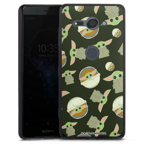 DeinDesign Handyhülle »Star Wars The Child Pattern« Sony Xperia XZ 2 Compact, Hülle Star Wars Muster Baby Yoda Offizielles Lizenzprodukt