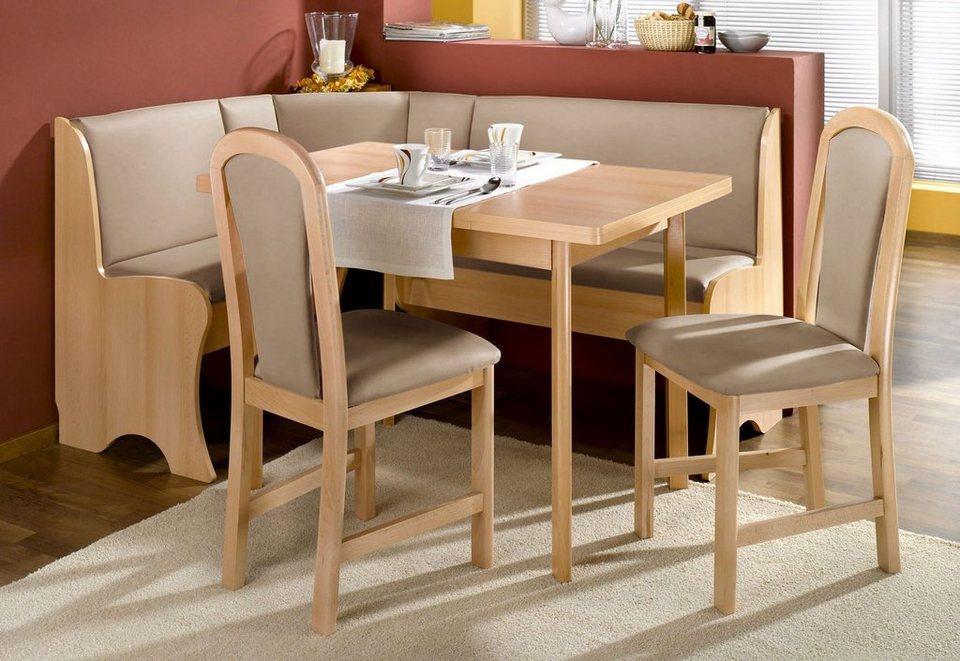 Eckbankgruppe, ca. 120/120 cm, FSC®-zertifiziertes Holz online kaufen | OTTO