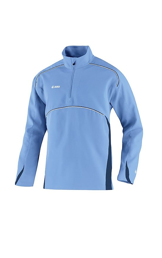 JAKO Ziptop Passion Herren in skyblue/marine
