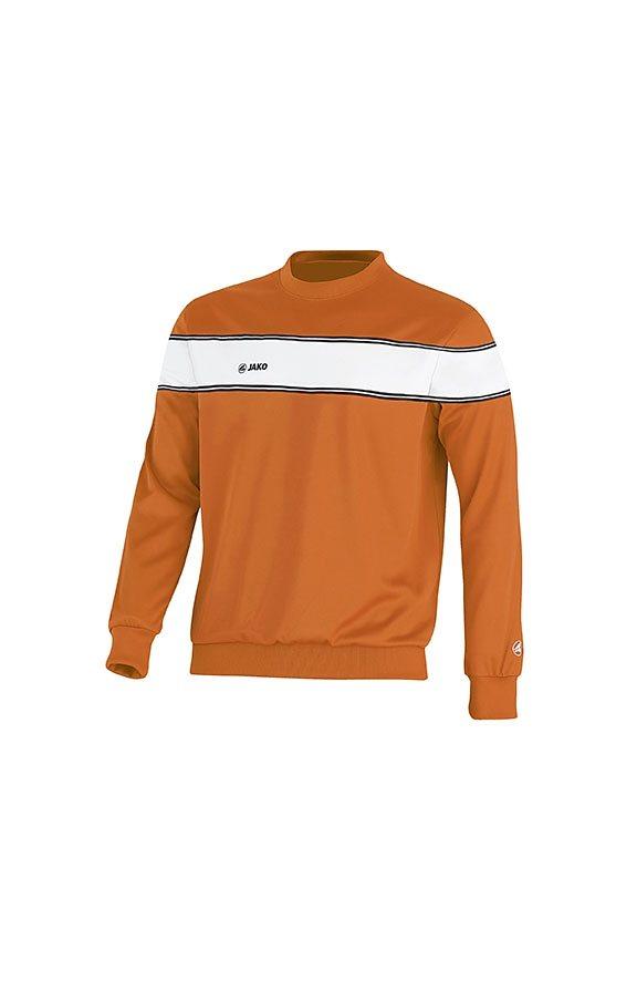 JAKO Sweat Player Kinder in orange/weiß