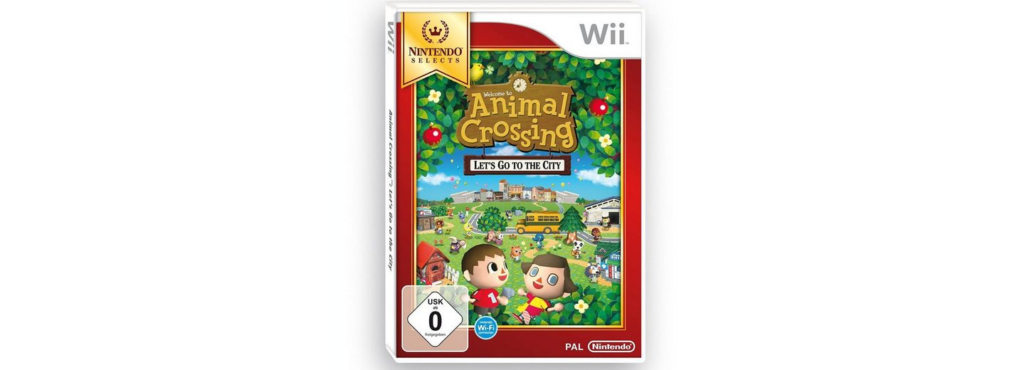 Nintendo Wii Spiel »Nintendo Selects - Wii Animal Crossing: Let's go to the City«