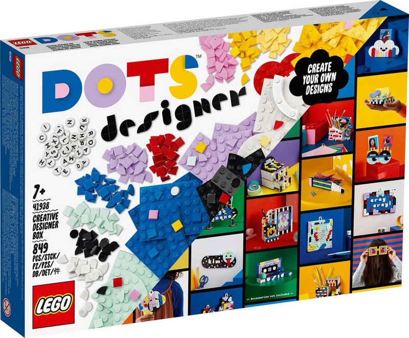 LEGO® Konstruktionsspielsteine »Ultimatives Designer-Set (41938), LEGO® DOTS«, (849 St)