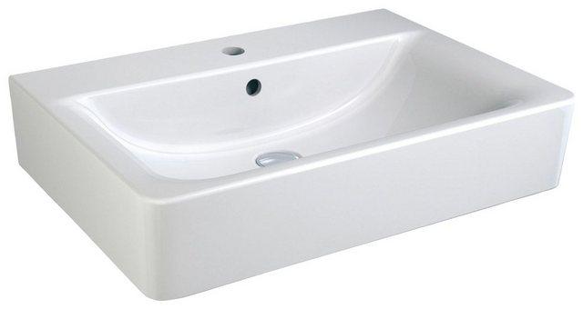 Waschtische - Ideal Standard Waschbecken »Connect Cube«, mit Überlauf, 61 cm x 46 cm  - Onlineshop OTTO