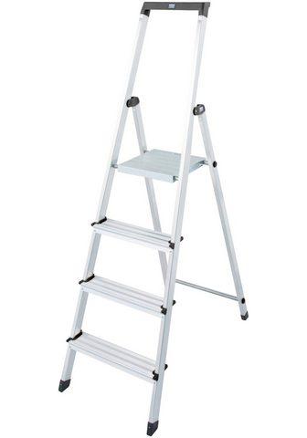 KRAUSE Stehleiter »Solidy« Aluminium 1x4 Stuf...