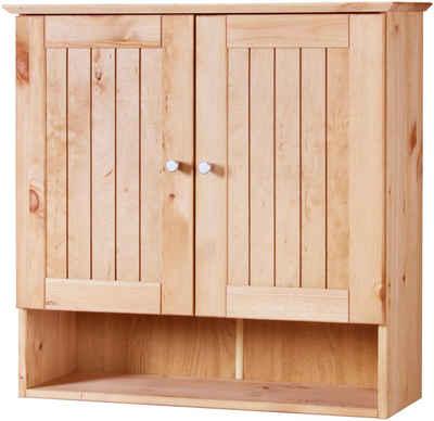 welltime Hängeschrank »Venezia Landhaus« Badmöbel aus Massivholz, Breite 63 cm