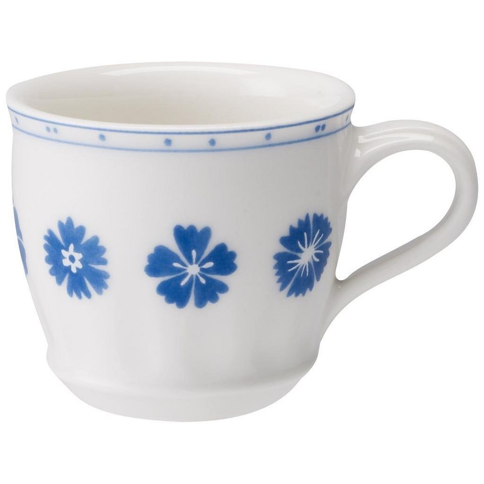 villeroy boch mokka espressoobertasse farmhouse touch blueflowers online kaufen otto. Black Bedroom Furniture Sets. Home Design Ideas