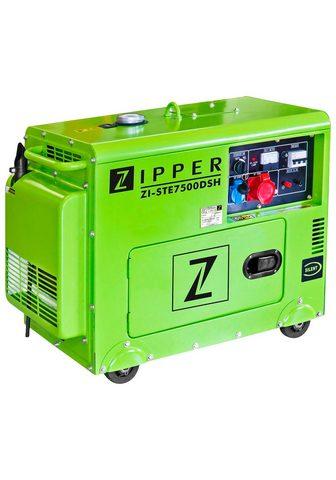 ZIPPER Stromerzeuger »ZI-STE7500DSH« 590 in k...