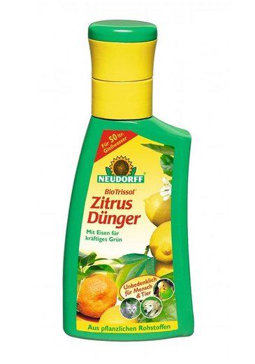NEUDORFF Flüssigdünger »BioTrissol Plus Zitrus- & MediterranpflanzenDünger«, 250 ml