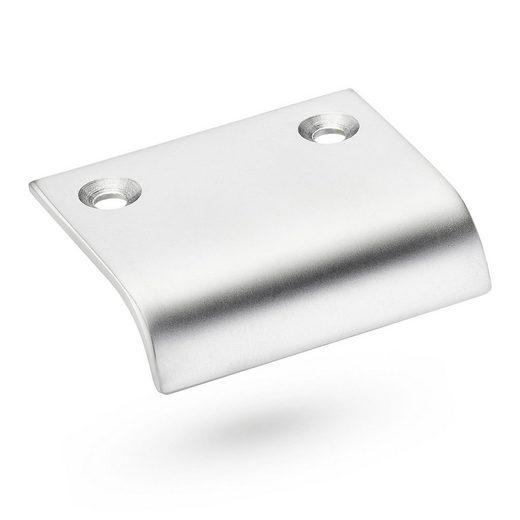 SO-TECH® Möbelgriff, Designgriff SW78 BA 32 mm Chrom matt Türgriff Schrankgriff Griff Schubladengriff - incl. Schrauben