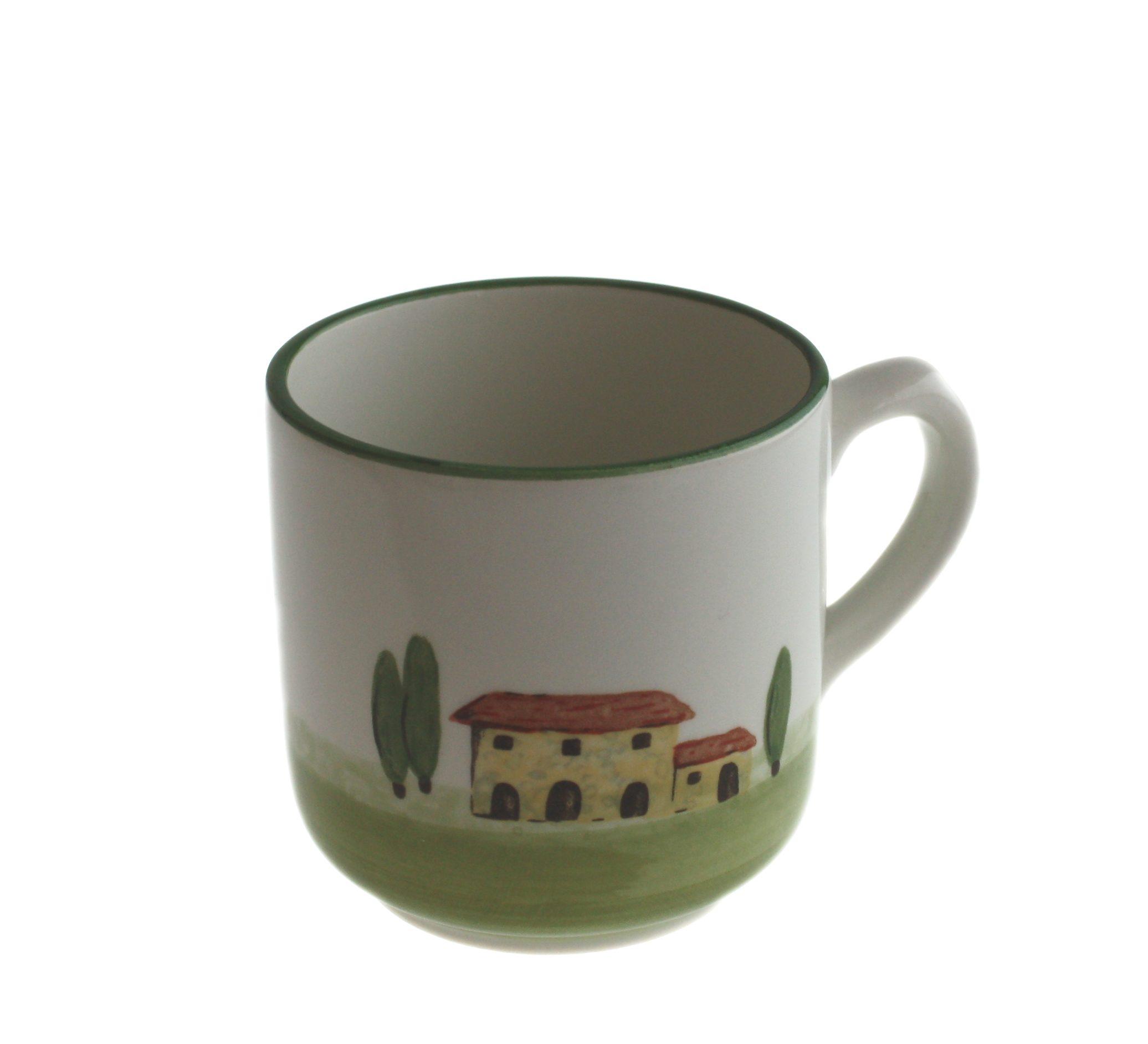 Zeller Keramik Kaffeebecher mit Henkel »Bella Toscana«