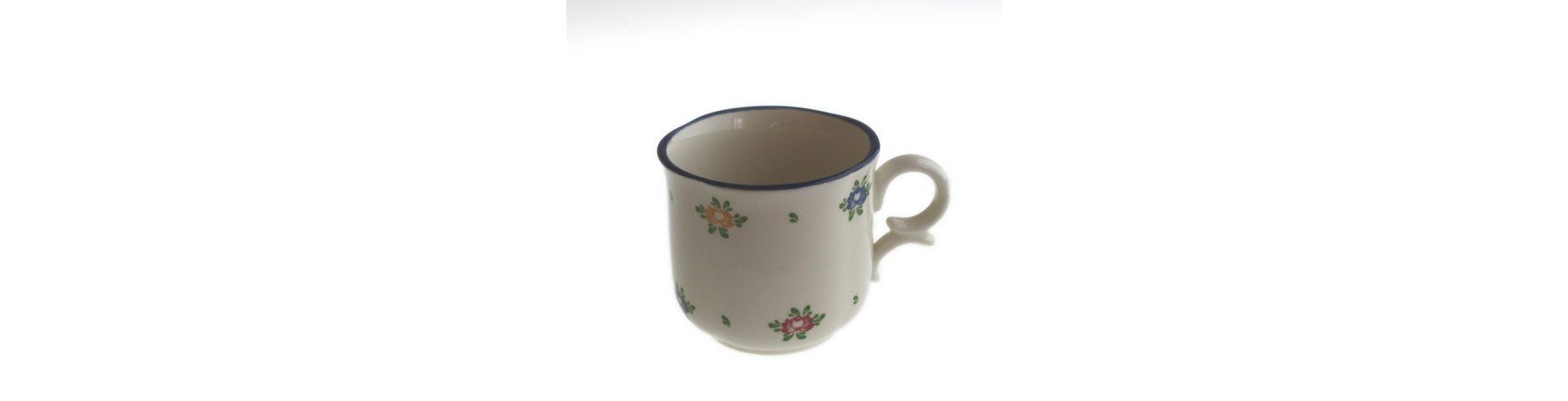 Zeller Keramik Obertasse hoch »Petite Rose«