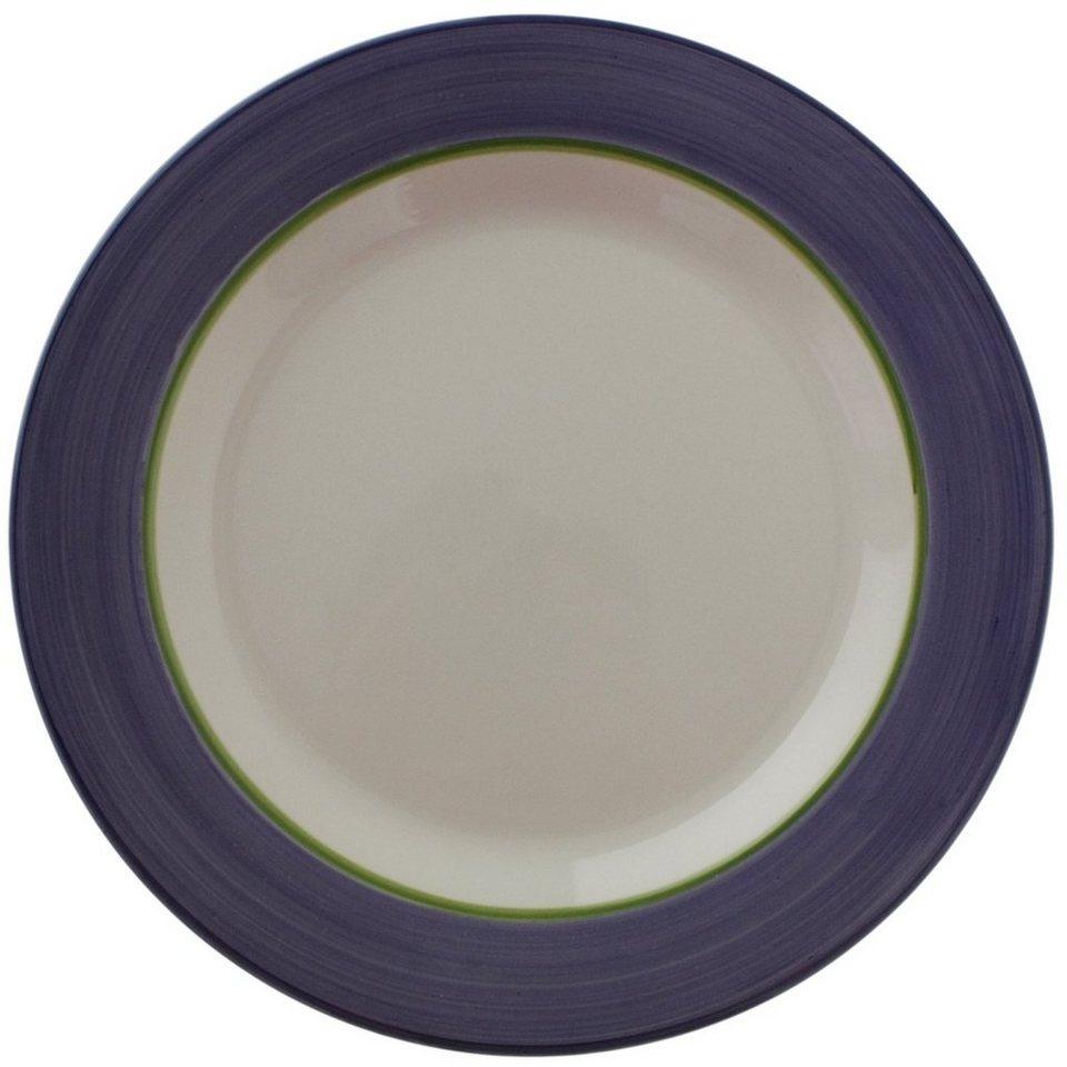 Zeller Keramik Teller »Fleur de Provence« in Weiß