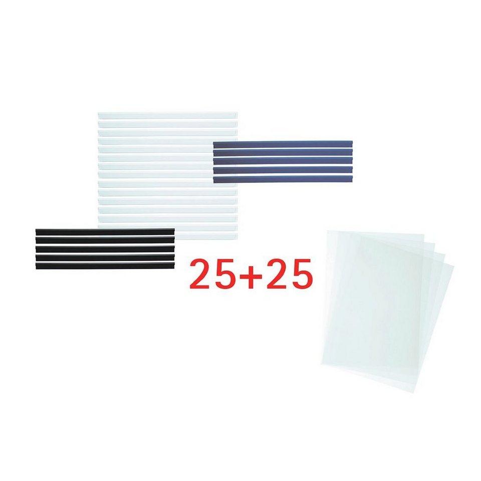 OTTO Office Standard 25er-Set Klemmschienen mit Klemmhüllen