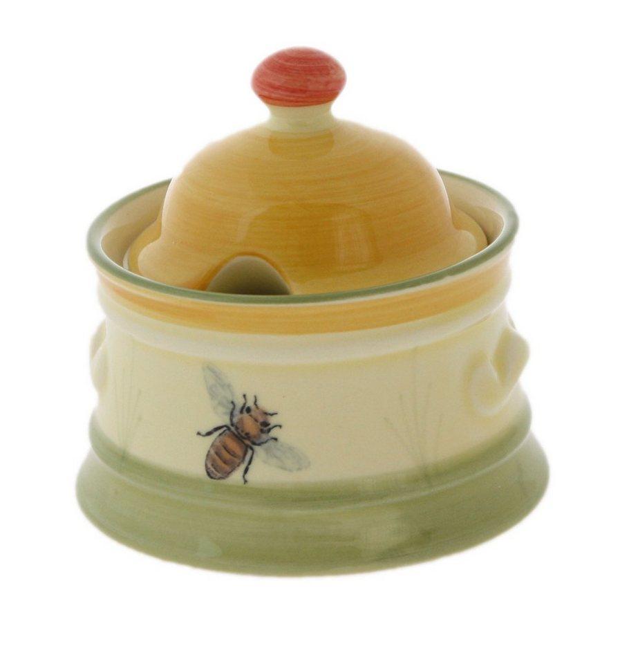 Zeller Keramik Zuckerdose »Biene« in Mehrfarbig