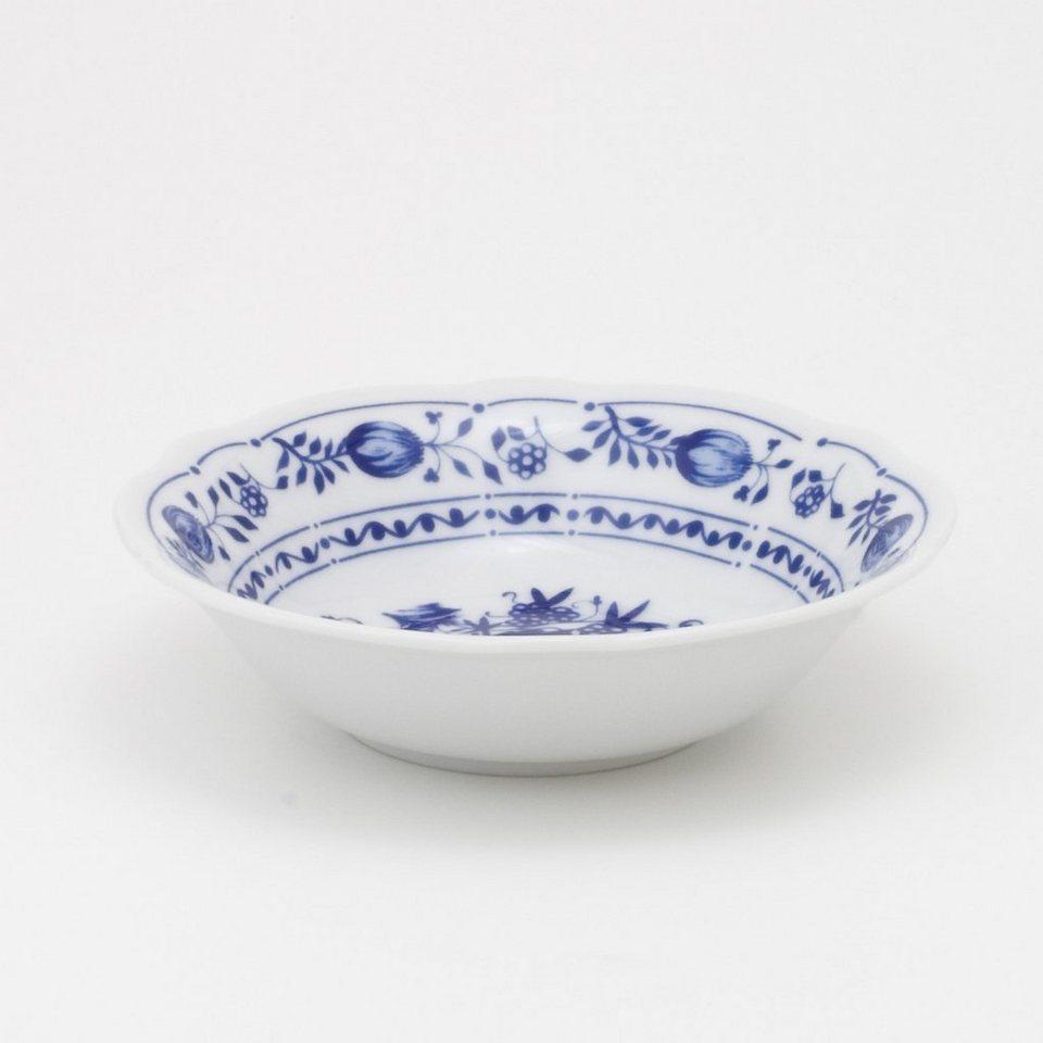 Kahla Dessertschale »Zwiebelmuster« in Weiß, Blau