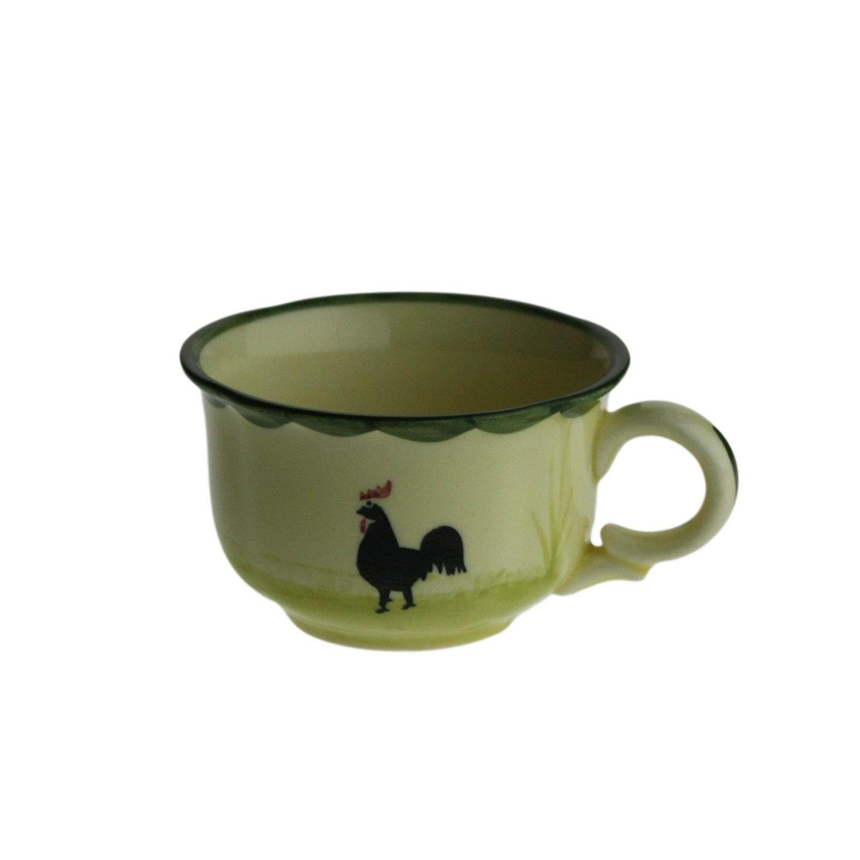 Zeller Keramik Espresso Obertasse »Hahn und Henne«