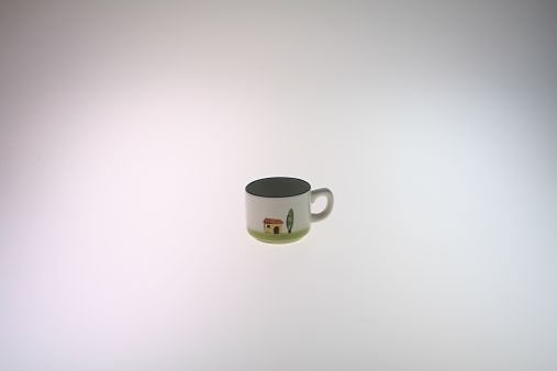 Zeller Keramik Espresso-Obertasse »Bella Toscana« in Weiß