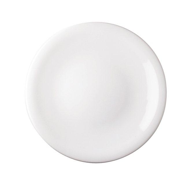 Kahla Essteller rund flach »Update« in Weiß