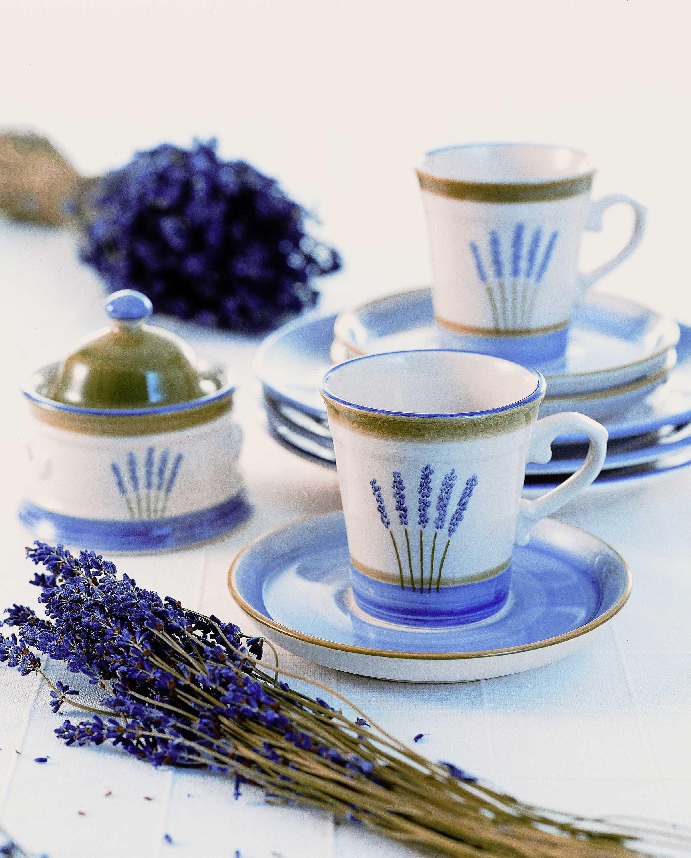 Zeller Keramik Tortenplatte »Fleur de Provence«