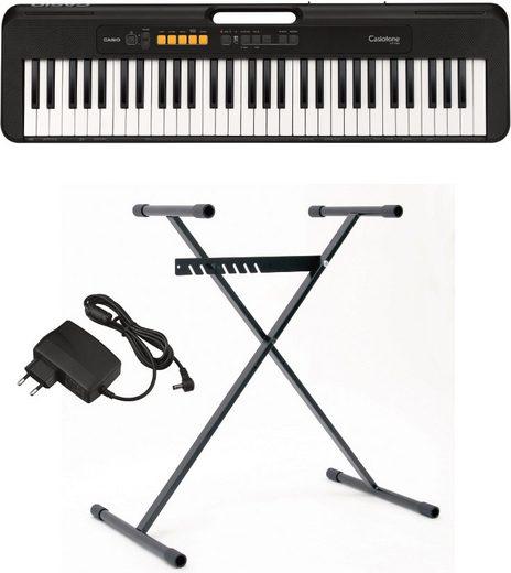 CASIO Keyboard »Casiotone CT-S100AD«, (Set, 3 tlg), inkl. Netzadapter und Stativ