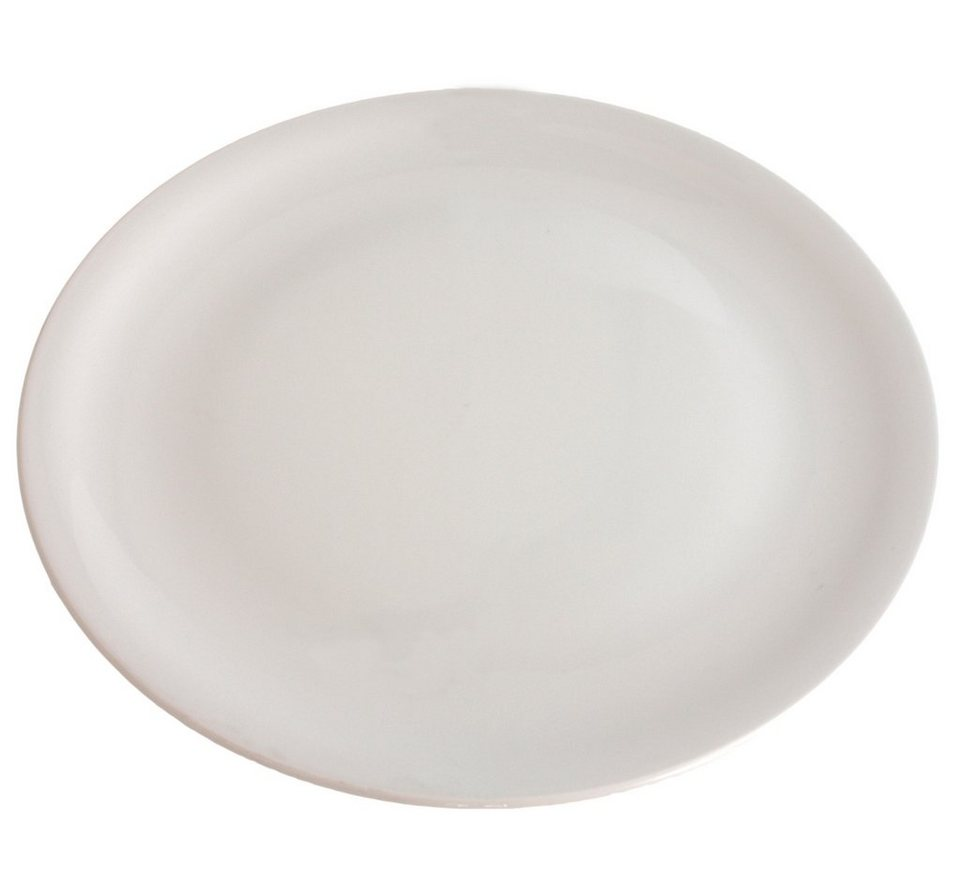 Kahla Pizzateller rund flach »Update« in Weiß