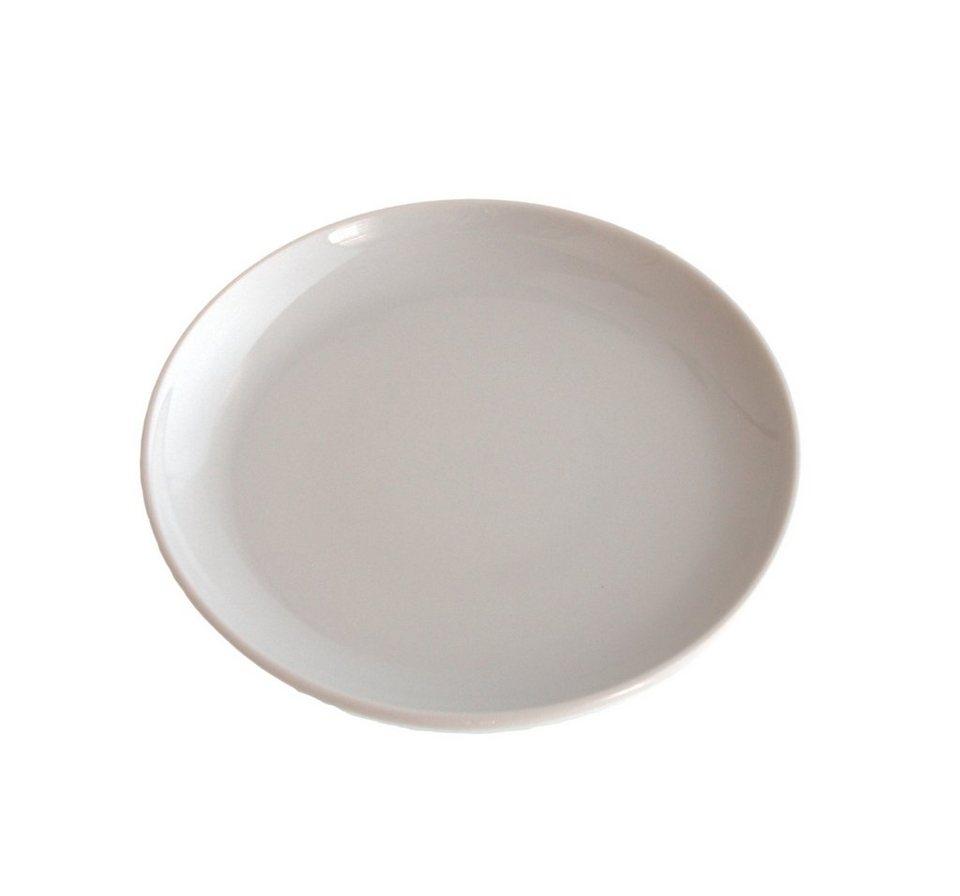 Kahla Snackteller rund flach »Update« in Weiß