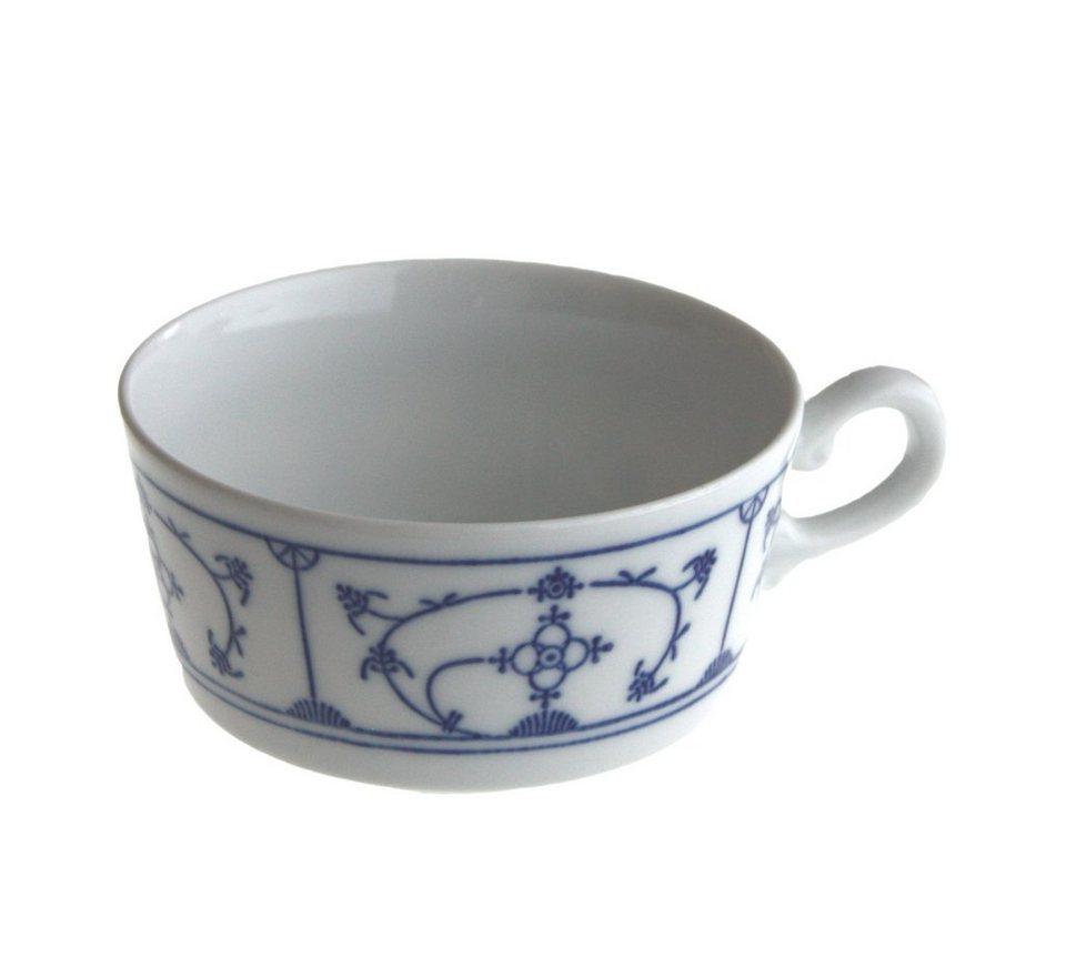 Kahla Tee-Obertasse »Blau Saks« in Weiß