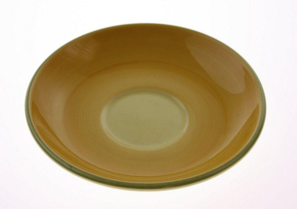Zeller Keramik Untertasse »Biene« in Mehrfarbig