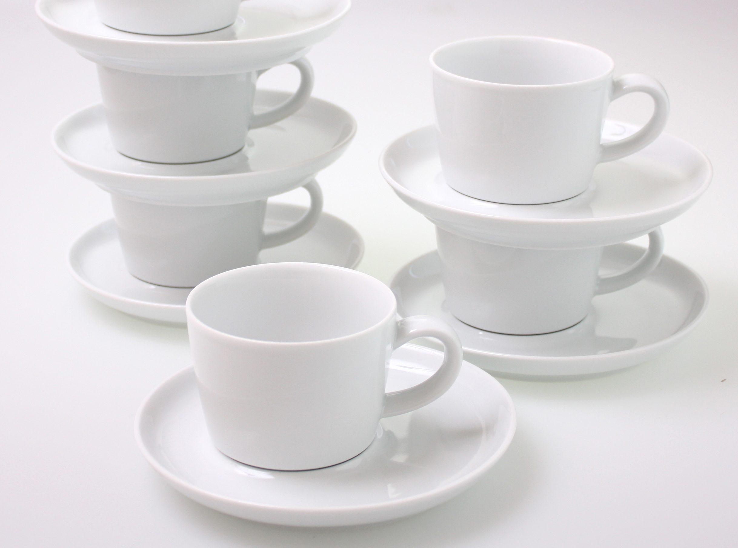 Kahla Set: Kaffee-Gedecke 12-tlg. »Five Senses«