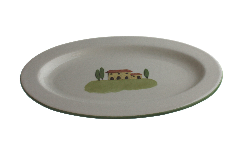 Zeller Keramik Platte oval »Bella Toscana«