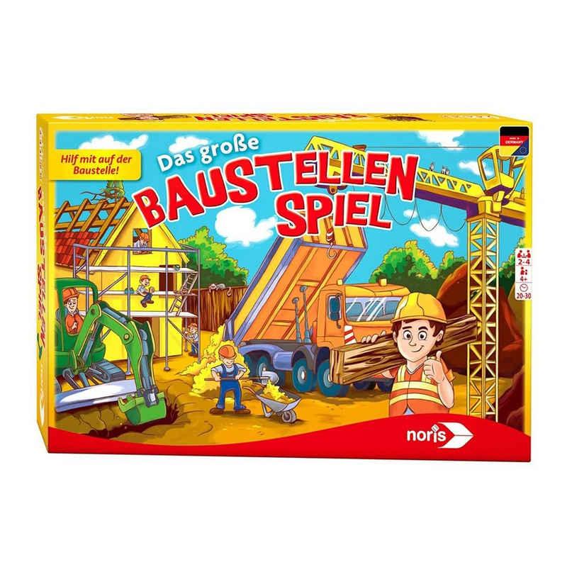 Noris Spiel, »Noris 606011681 - Kinderspiel, Das große Baustellenspiel«