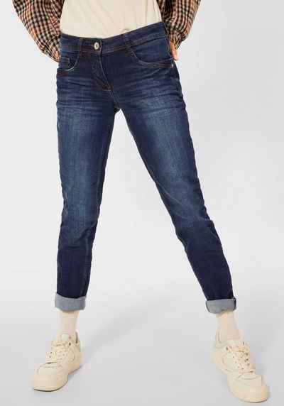 Cecil Slim-fit-Jeans »Style Charlize« mit mittelblauer Waschung