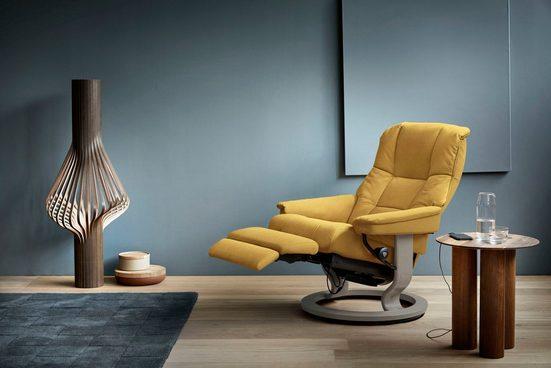 Stressless® Relaxsessel »Mayfair«, mit Classic Base und Power™, elektrisch verstellbar, optional 2-motorisch, Größe M & L, Gestell Whitewash