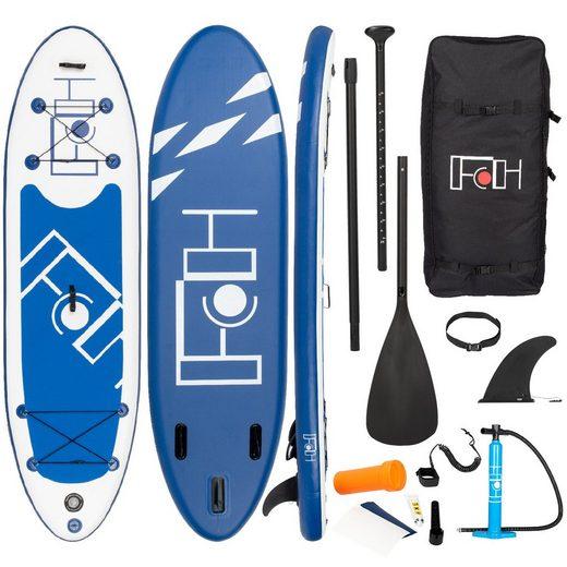 FCH SUP-Board, (Set, Paddel Pumpe Transportrucksack), Stand Up Paddle Aufblasbar Surfboard Paddling