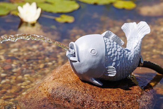 OASE Wasserspiel , Wasserspeier Fisch