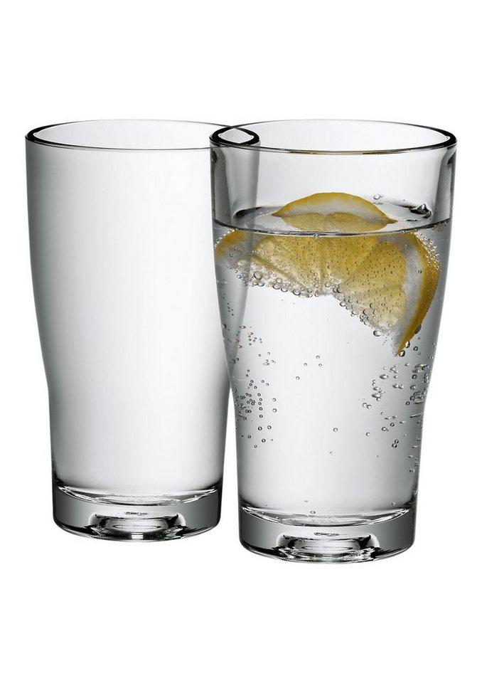 Wasserkaraffe oder Gläser-Set (2-tlg.), WMF, »Basic«