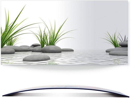 Artland Wandbild »3 D Steine«, Zen (1 Stück), 3D Optik gebogen