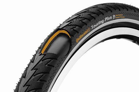 "Continental Fahrradreifen »Touring Plus 24 x 1,75"" Draht Reflex«"
